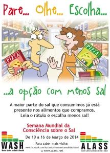 Semana Mundial Da Consciência sobre o Sal