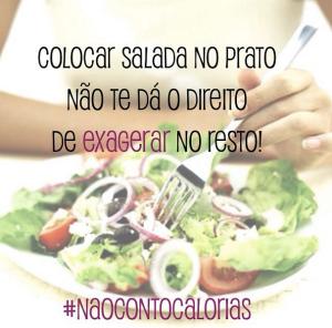salada no self service