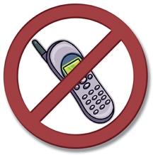 proibido telefone