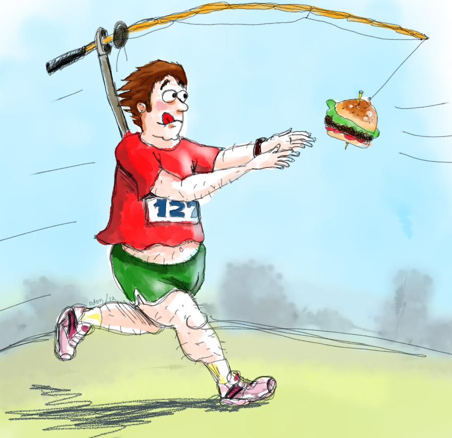 correr comida